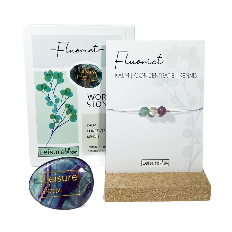 Fluoriet Worry Stones
