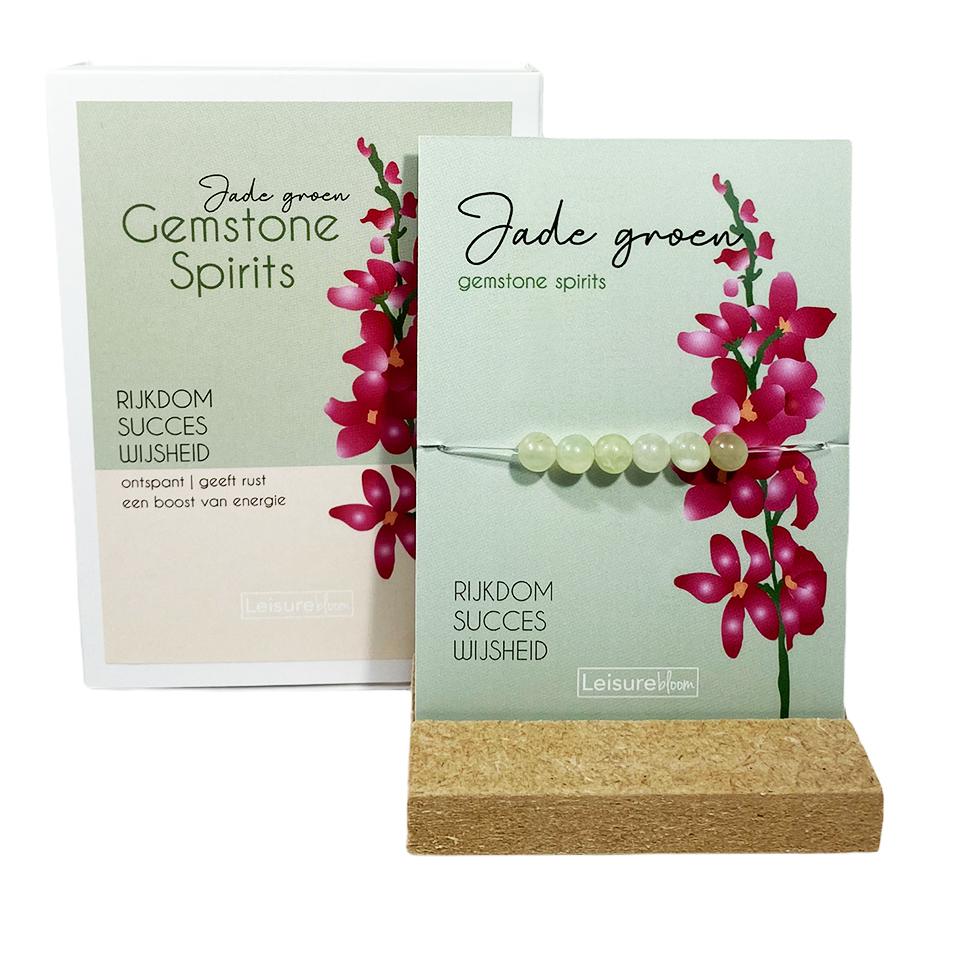 Jade groen -gemstone spirits