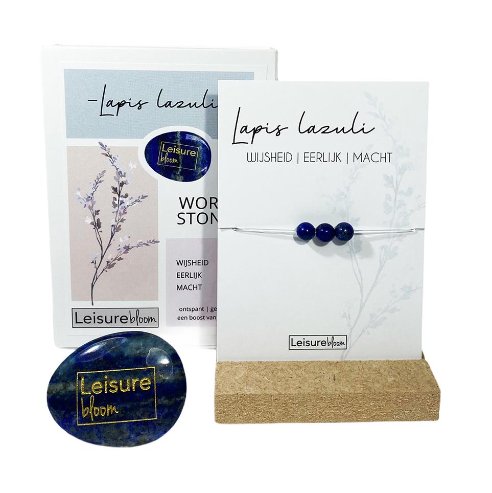 lapiz lazuli Worry Stones
