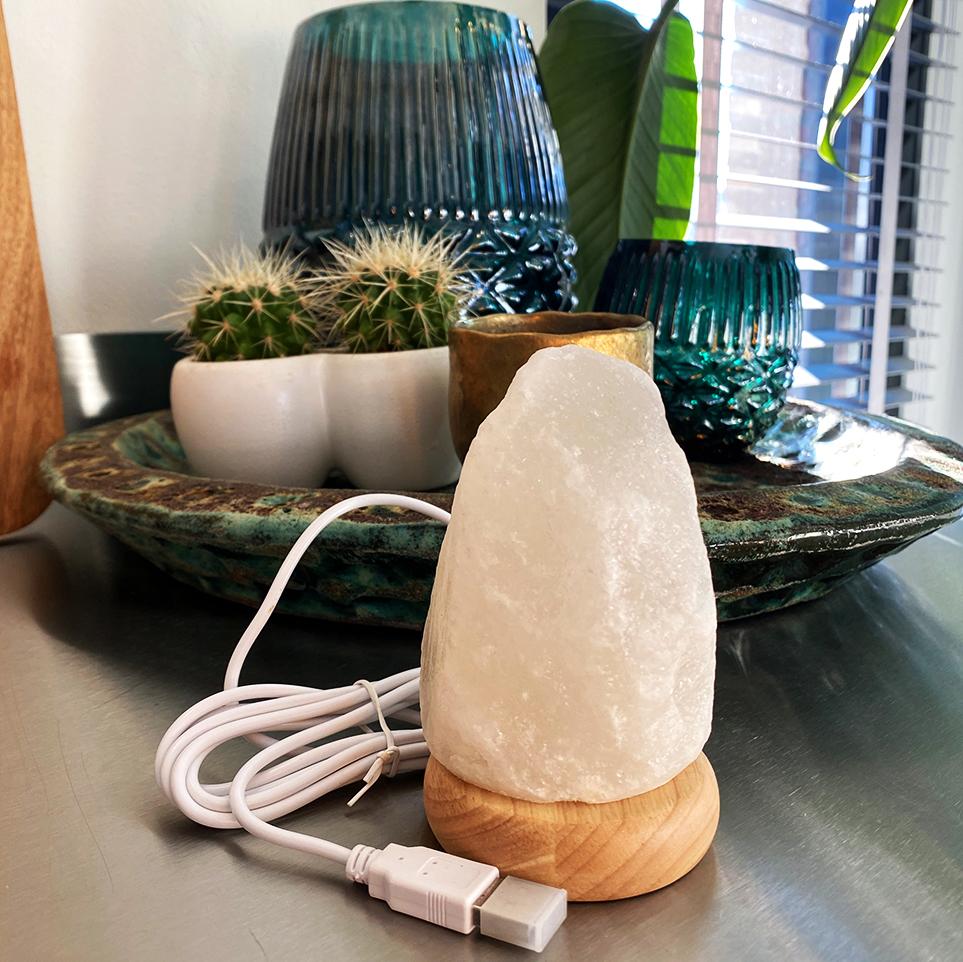 Zoutlamp mini USB